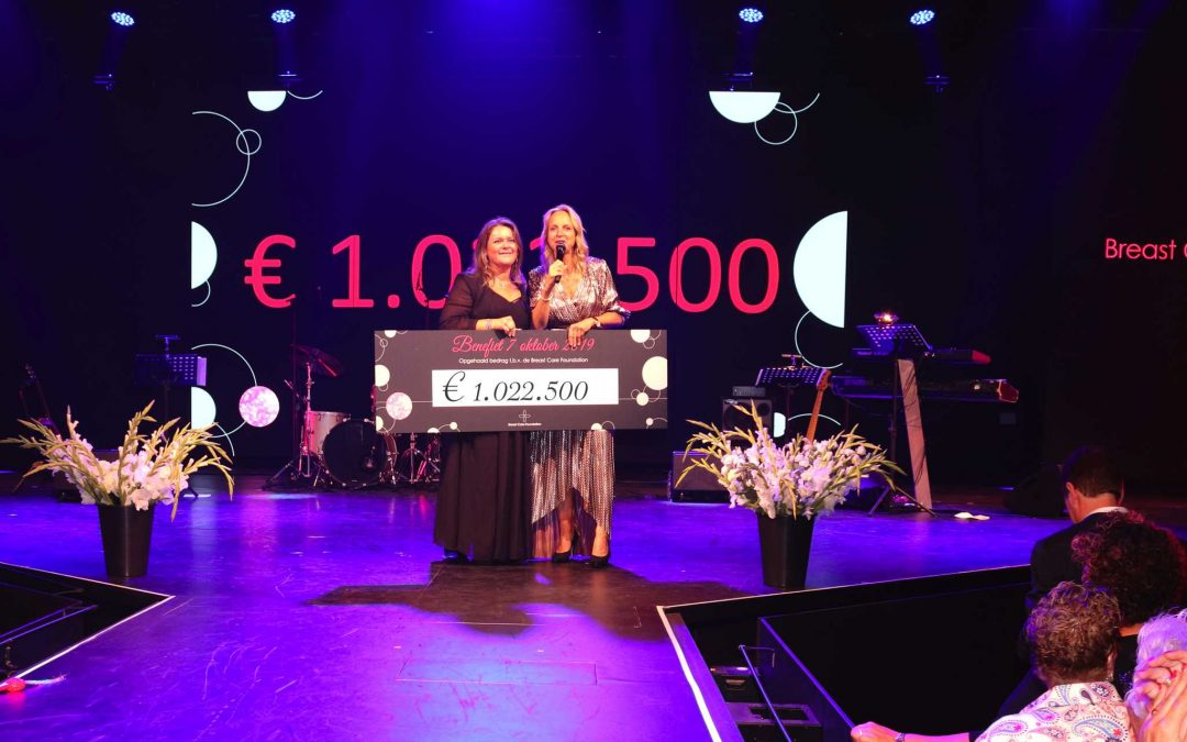 Benefietdiner Breast Care Foundation 2019 een groot succes!