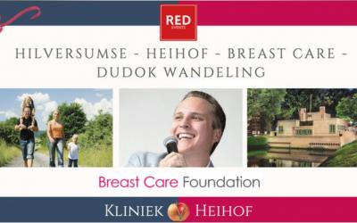 Hilversumse Heihof Dudok Breast Care wandeling op zondag 17 november 2019